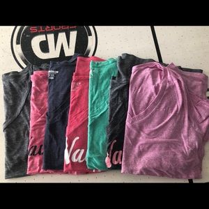 Old navy v-neck tees Size XL lot of 7